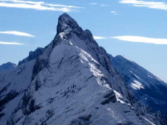 Wintery North Ridge of Mt. Wintour