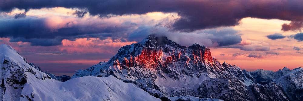 Monte Civetta, Dolomites