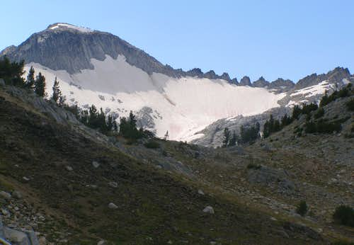 From Glacier Pass