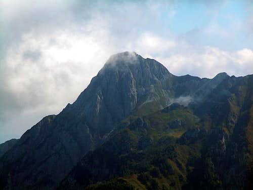 Plenge (2373m), seen from...