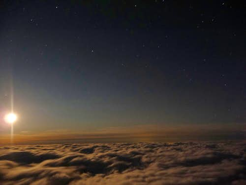 The Night Sky at 14,000 Feet