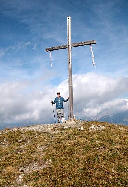 The Mittagskofel summit...