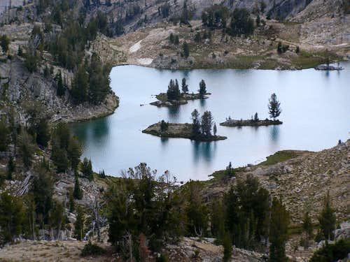Glacier Lake Islands