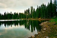 Reflections on Squaw Lake