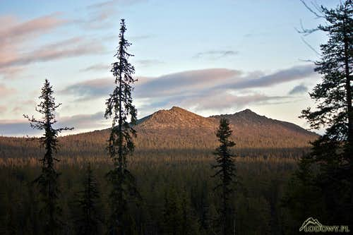 Korvatunturi from the West