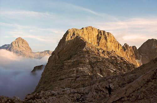 Bavski Gamsovec from near Dovska vratca pass