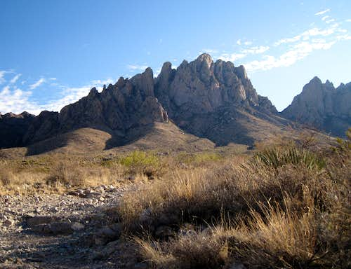 Organ Mountains from Topp Hut Road