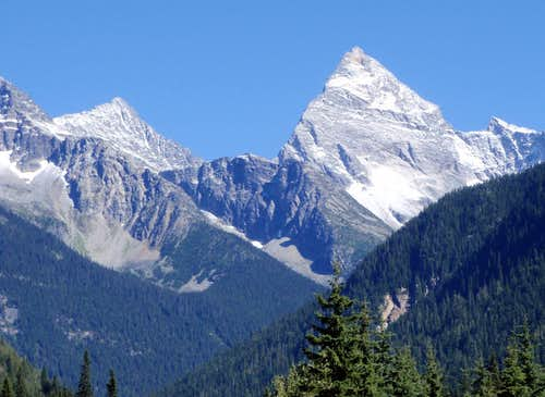 Uto Peak And Mount Sir Donald