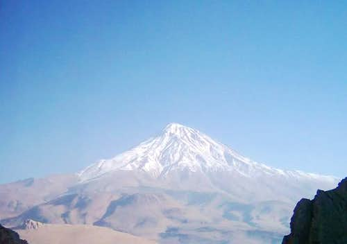 South view of Damavand...