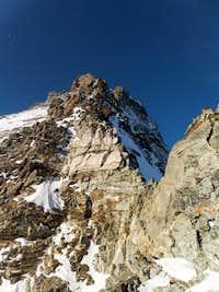 Lower section of Hörnli Ridge.