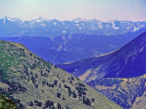 High Sierra beyond Mammoth Lakes