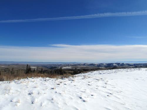 SE from Mt. McKinnon
