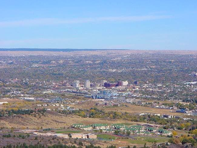 View of downtown Colorado...