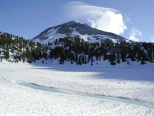 Lassen's south side on the...