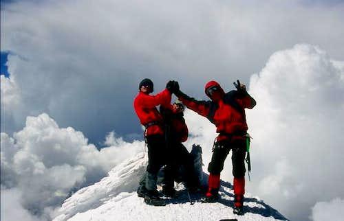 On the Elbrus West Summit...
