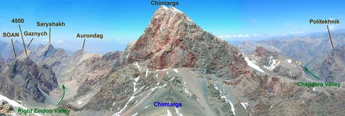 Chimtarga as seen from Energia
