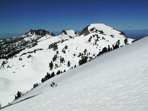 The view from Lassen\'s South...