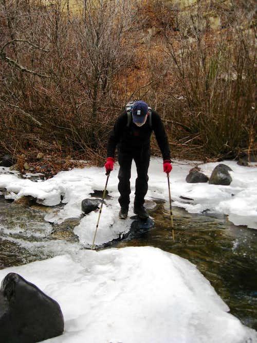Crossing Hubbard Creek