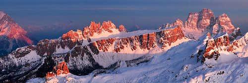 Lagazuoi view, Dolomites