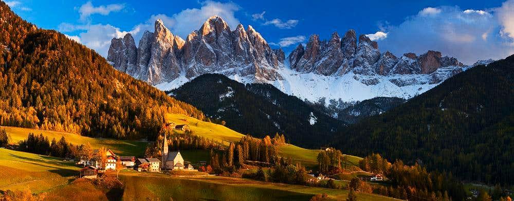 Val di Funes, Dolomites