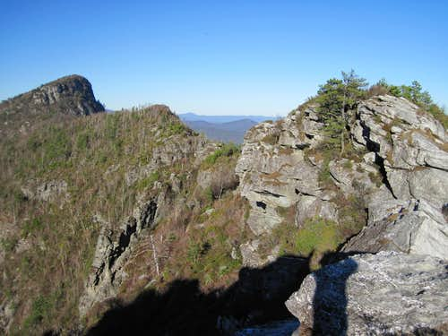 Table Rock from The Chimenys