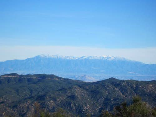 Looking towards the San Bernardino Mtns