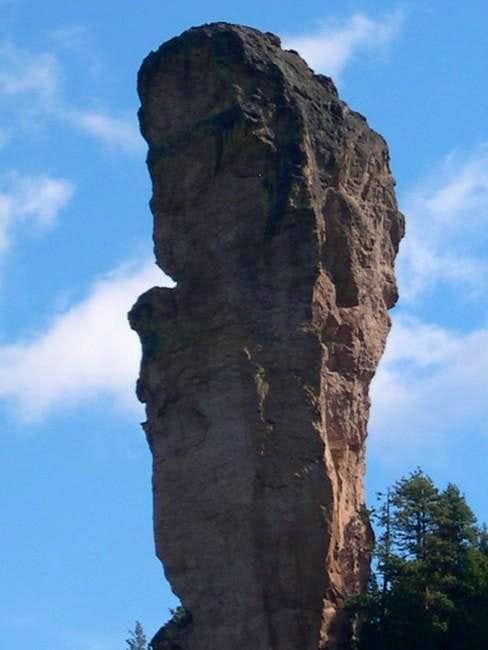 Steins Pillar as seen from...