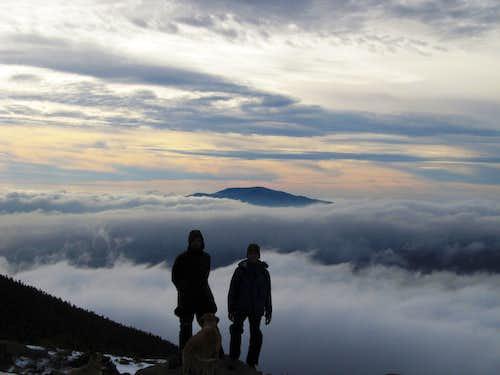 Mount Moosilauke from Little Haystack