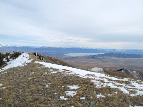 Utah Lake, Timp from Summit