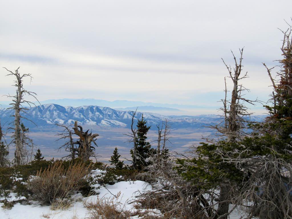 Zoom of Utah West Desert Ranges
