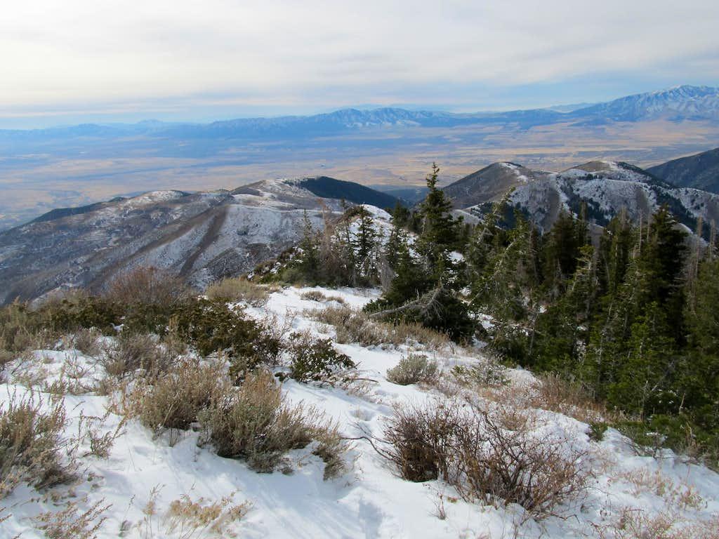 Descending W Ridge