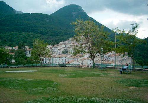 The village of Civitella...