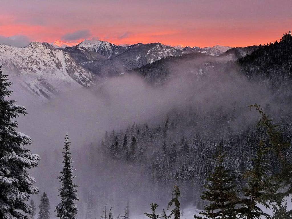 Beautiful Sunrise on Big Chief