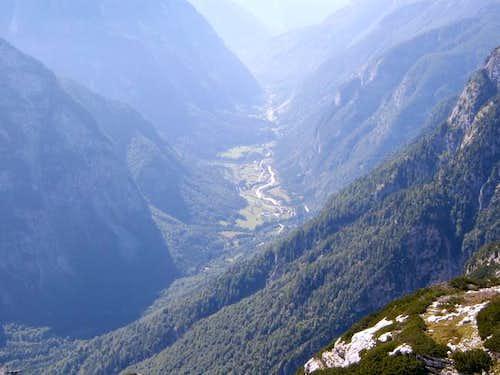 View from the Pogačnikov...