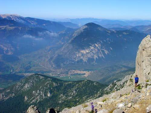 Top of Pedraforca massif. ...