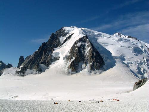 Mont Blanc du Tacul NW-flank (Normal route)