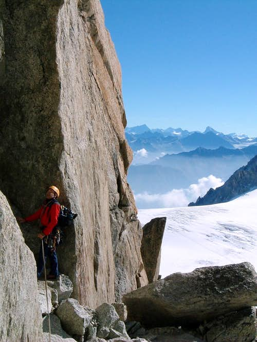 Aiguille Purtscheller South Ridge