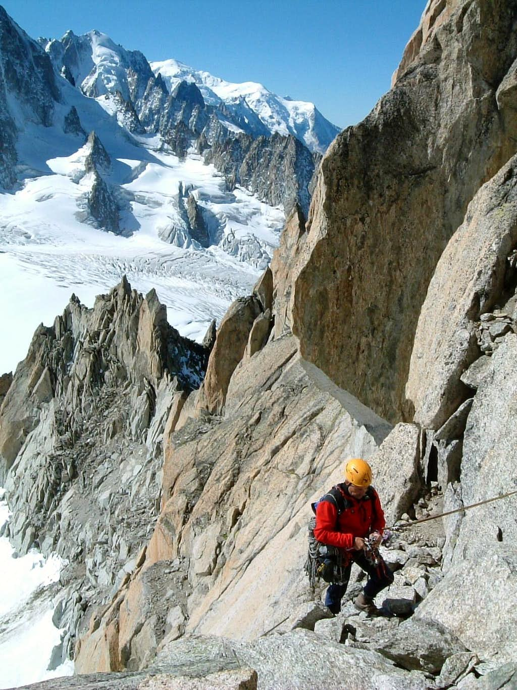 Aiguille Purtscheller South Ridge