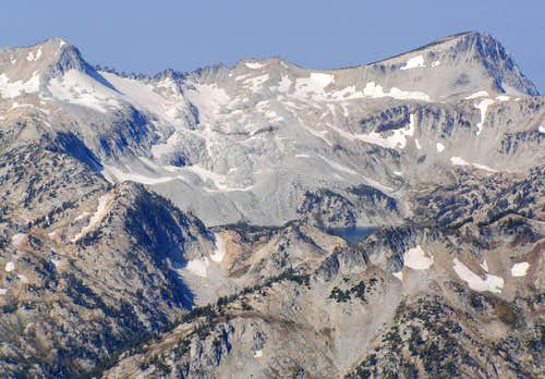 Glacier and Eagle