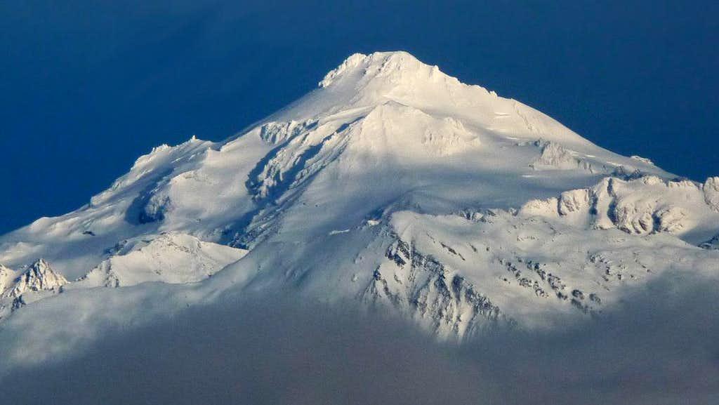 Glacier Peak Above the Clouds
