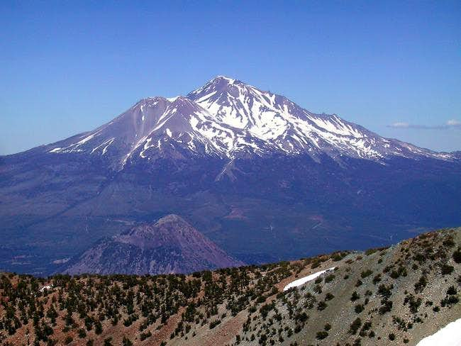 A grand view of Shasta from...