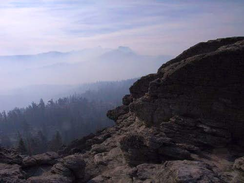 Wildfire smoke covers the...