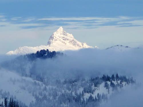 Sloan Peak Above the Clouds