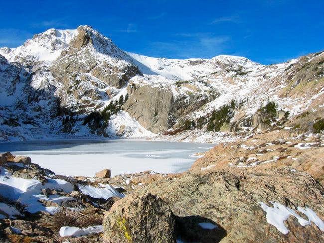 Ouzel Peak as seen from...