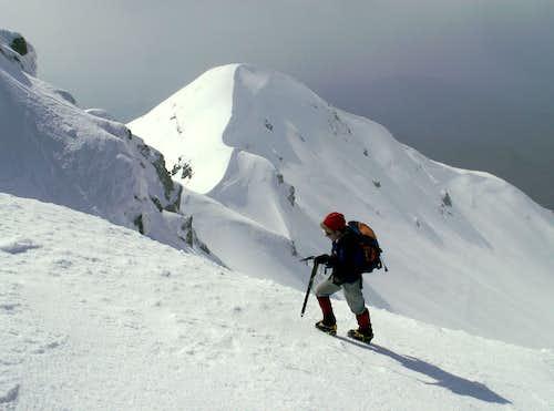 Monte Matto final ridge