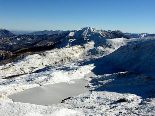 Sillara Lakes in winter time