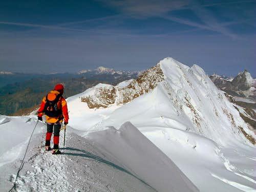Eastern Lyskamm North Face