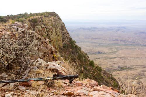 Main Summit & Western Desert from North Summit