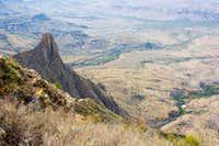 Carter Peak, Western Desert, Cattail Creek, & Oak Spring from Vernon Bailey Summit