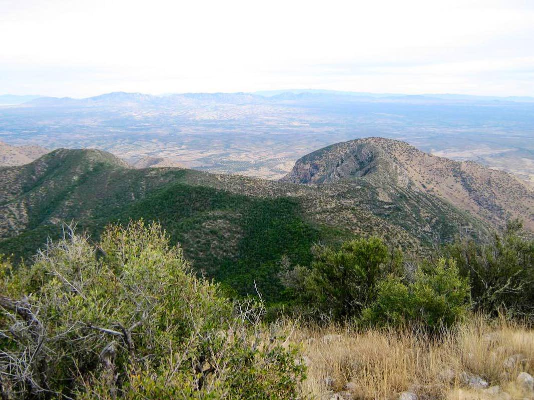 Apache Peak Whetstone Mtns Climbing Hiking